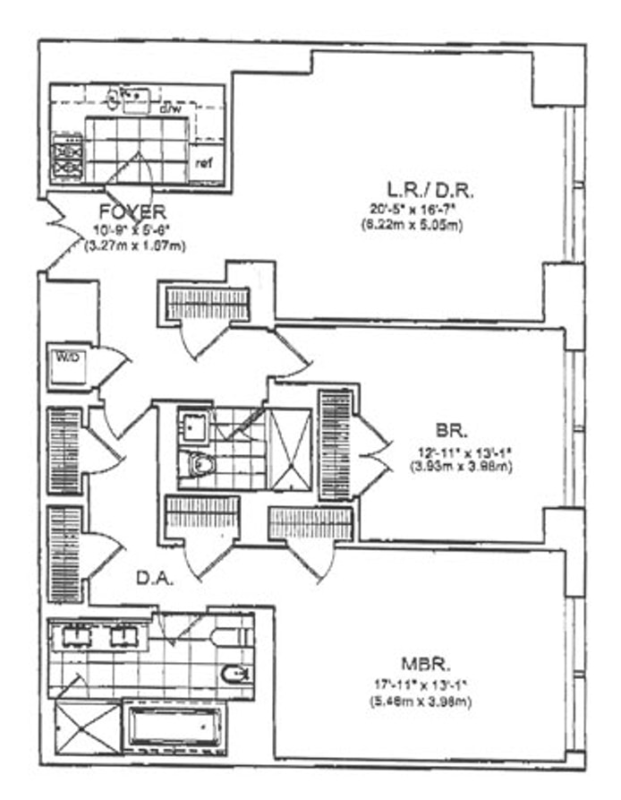 80 Columbus Circle 64C, Midtown West, NYC, $15,000, Web #: 19959189