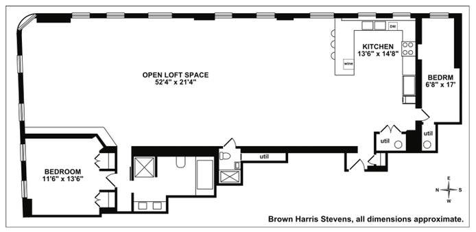 226 Lafayette Street 3E, Soho, NYC, $13,500, Web #: 19960600
