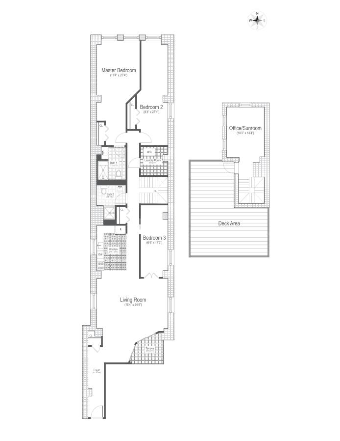 36 Laight Street Phr, Tribeca/SOHO/Chinatown, NYC, $11,950, Web #: 19988412