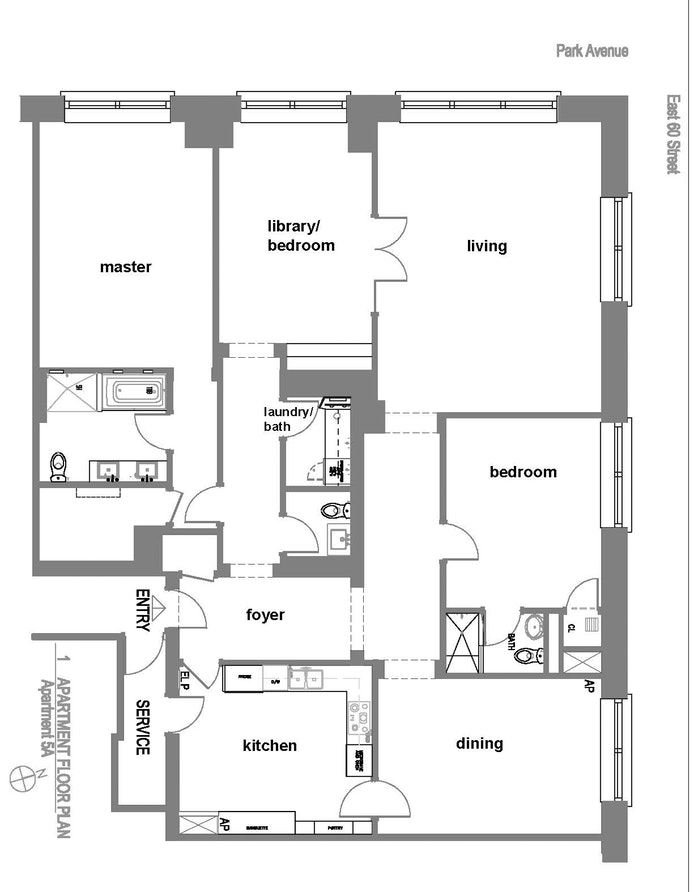 515 Park Avenue 5A, Upper East Side, NYC, $8,000,000, Web #: 19995715