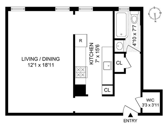 345 Montgomery Street 1B, Brooklyn, New York, $345,000, Web #: 20011660