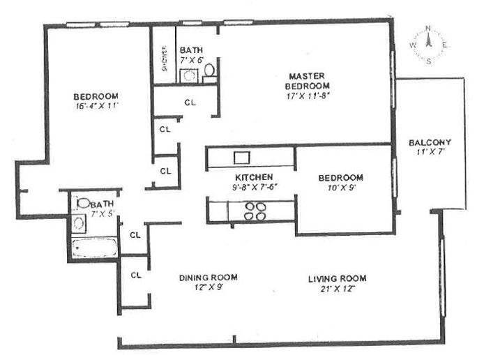 3050 Fairfield Avenue 5K, Riverdale, New York, $349,000, Web #: 20016868