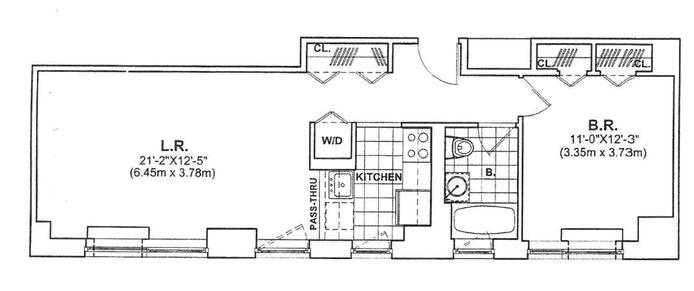 215 East 96th Street 38D, Upper East Side, NYC, $4,000, Web #: 20022187