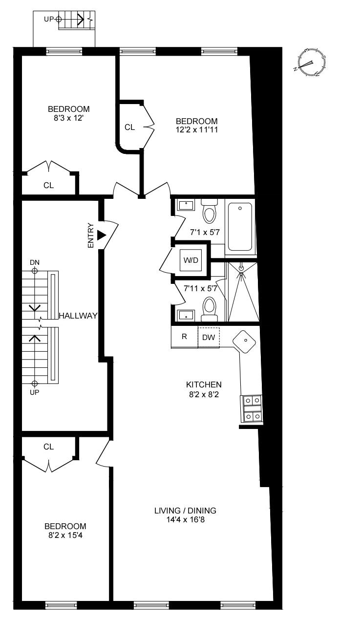 293 Henry Street 5, Brooklyn Heights, New York, $6,250, Web #: 20028370
