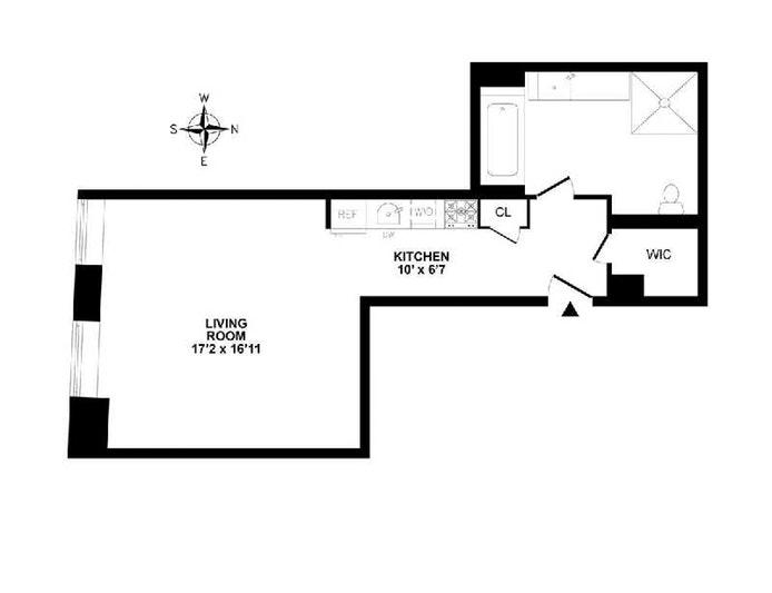 20 Pine Street 2305, Financial District, NYC, $926,000, Web #: 20040780