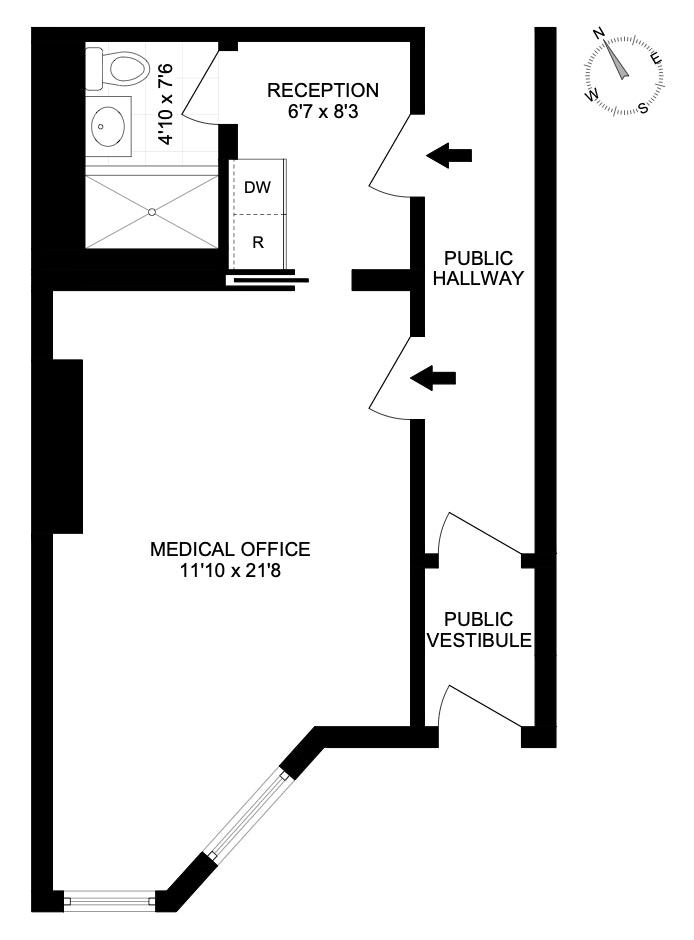 165 West 95th Street Meds, Upper West Side, NYC, $515,000, Web #: 20049476