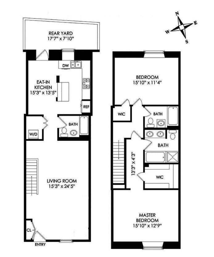401 Hicks Street B1g, Cobble Hill, New York, $1,895,000, Web #: 20058698