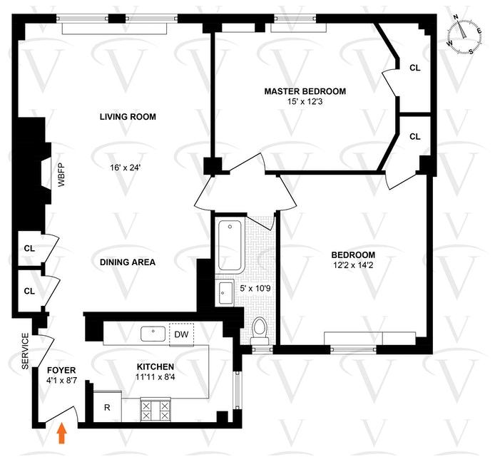 212 East 48th Street 3C, Midtown East, NYC, $775,000, Web #: 20062254