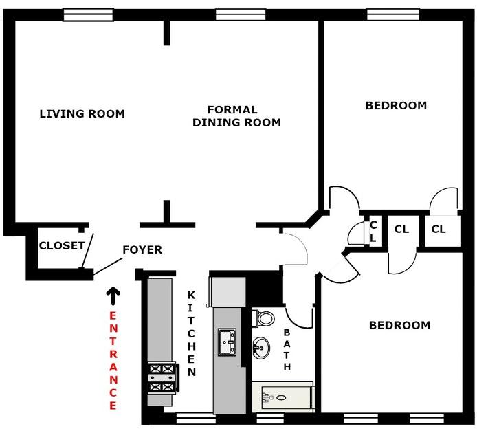 35 -15 78th Street 51, Jackson Heights, New York, $640,000, Web #: 20070931