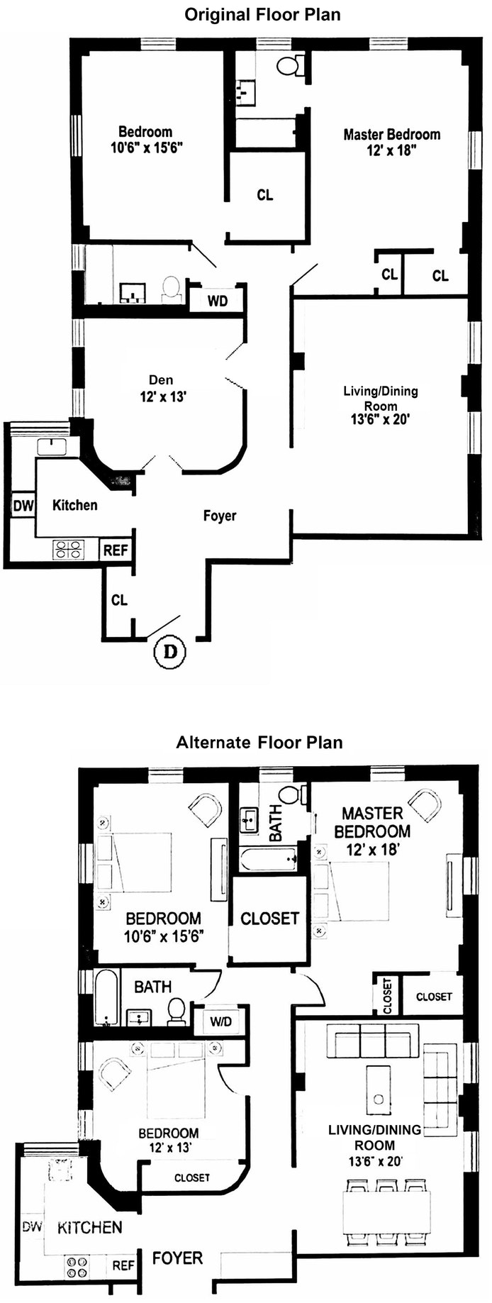 465 West End Avenue 12D, Upper West Side, NYC, $2,250,000, Web #: 20071157