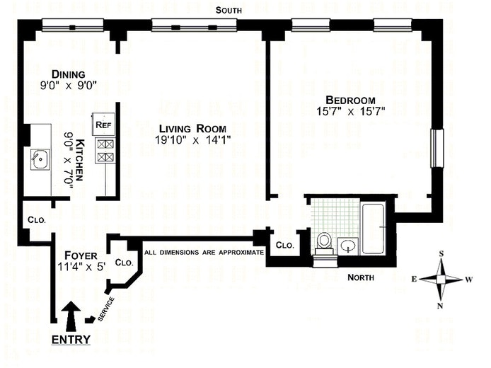 330 West 72nd Street, Upper West Side, NYC, $795,000, Web #: 20078375