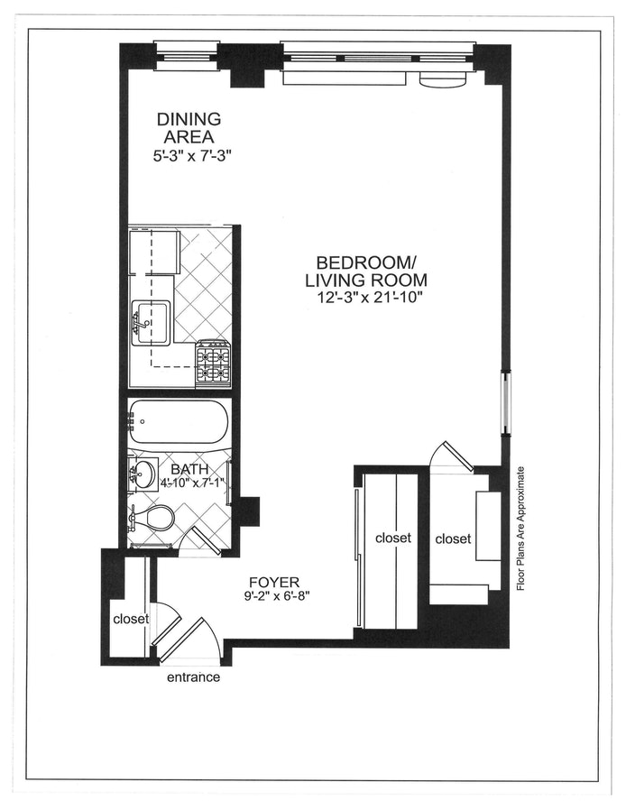 250 East 39th St 9J, Murray Hill/Kips Bay, NYC, $2,550, Web #: 20078598