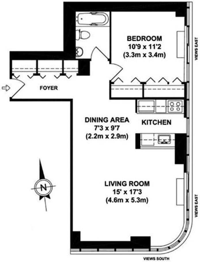 455 East 86th Street 16E, Upper East Side, NYC, $3,750, Web #: 20079050