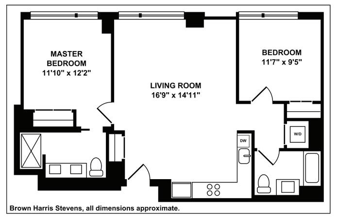 550 Vanderbilt Avenue 1515, Prospect Heights, New York, $5,850, Web #: 20092026