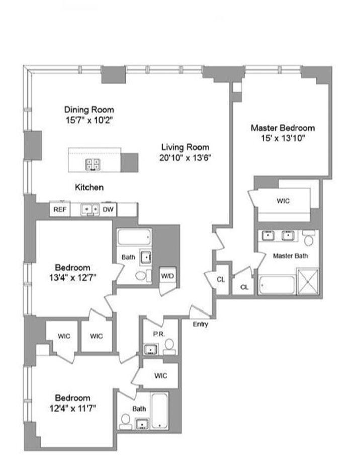 450 East 83rd Street 14D, Upper East Side, NYC, $13,500, Web #: 20130266