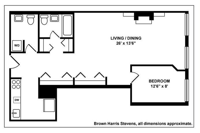 121 Pacific Street P2e, Cobble Hill, New York, $899,999, Web #: 20148601