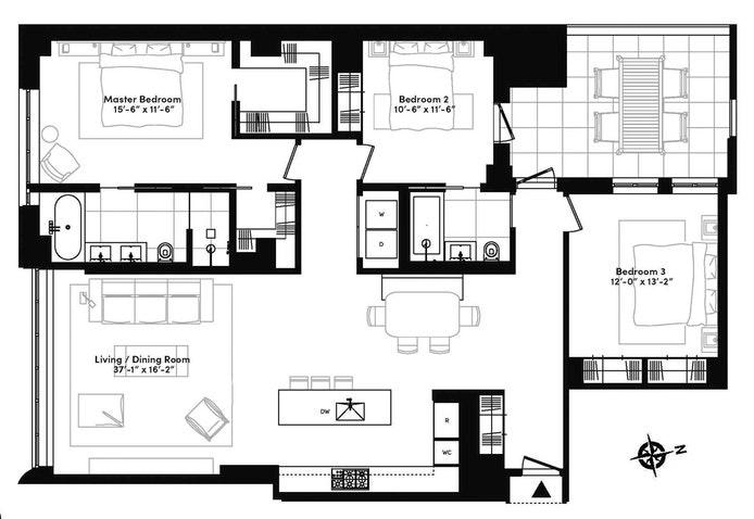 404 Park Avenue South 3D, Midtown East, NYC, $13,750, Web #: 20154149