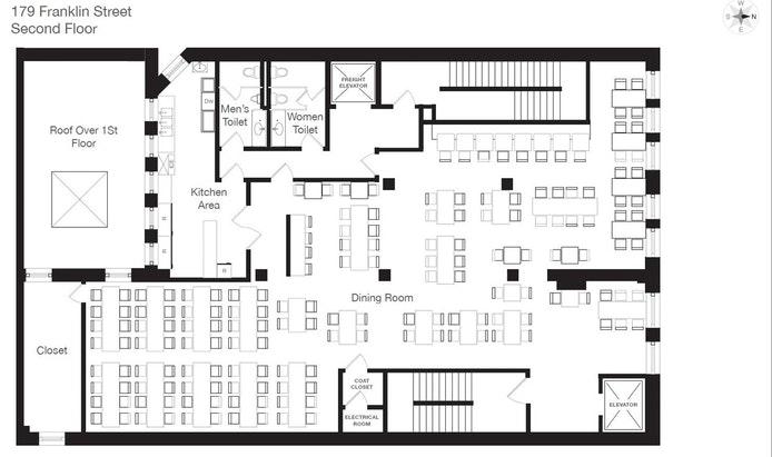 179 Franklin Street 2, Tribeca, NYC, $23,760, Web #: 20159149