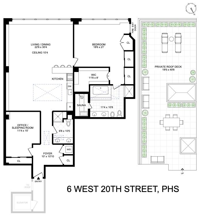 6 West 20th Street Phs, Greenwich Village/Chelsea, NYC, $10,000, Web #: 20201052