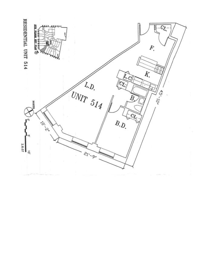 99 John Street 514, Civic Center/Two Bridges, NYC, $3,150, Web #: 20201229