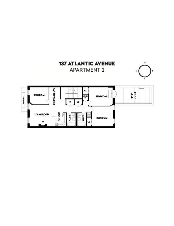 137 Atlantic Avenue 2, Brooklyn, New York, $6,100, Web #: 20204374