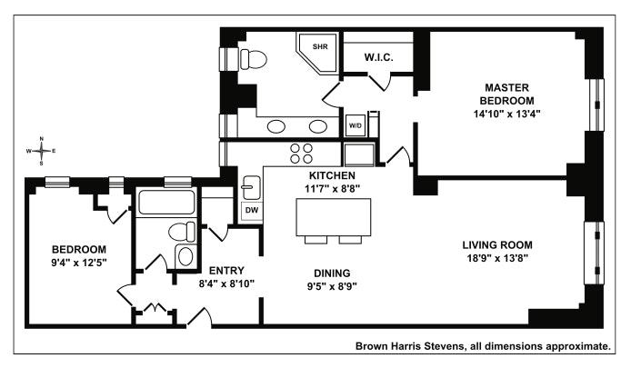 219 West 81st Street 11E, Upper West Side, NYC, $2,100,000, Web #: 20204493