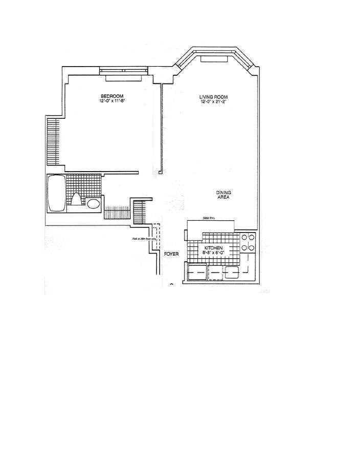 200 East 90th Street 25A, Upper East Side, NYC, $3,350, Web #: 20206643
