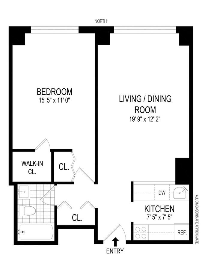 2373 Broadway 528, Upper West Side, NYC, $3,900, Web #: 20209405