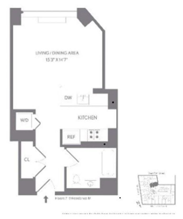 227 West 77th Street 9M, Upper West Side, NYC, $3,200, Web #: 20216083