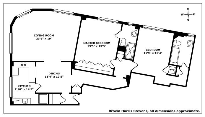 404 Riverside Drive 11B, Upper West Side, NYC, $2,750,000, Web #: 20227061
