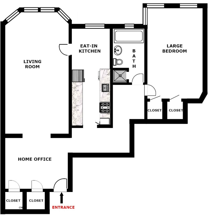 85 -10 34th Ave 515, Jackson Heights, New York, $489,000, Web #: 20231210