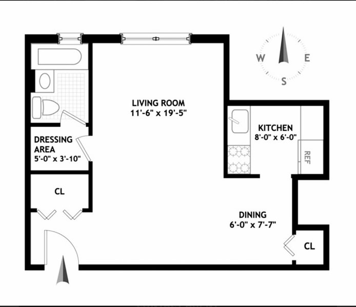 330 East 80th Street 5F, Upper East Side, NYC, $389,000, Web #: 20235782