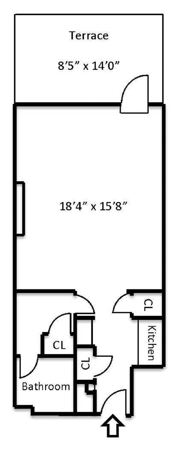 6 Montague Terrace D3, Brooklyn, New York, $2,500, Web #: 20238384