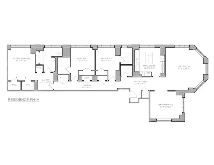 205 West 76th Street Ph4a, Upper West Side, NYC, $16,500, Web #: 20238554