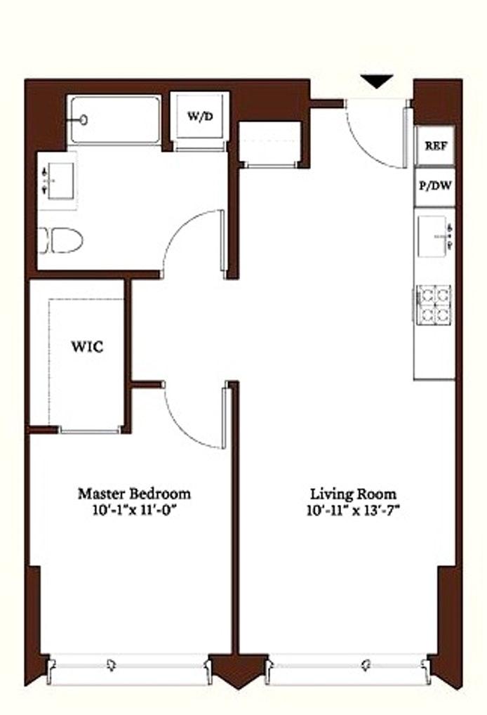 550 Vanderbilt Avenue 505, Brooklyn, New York, $3,295, Web #: 20239728