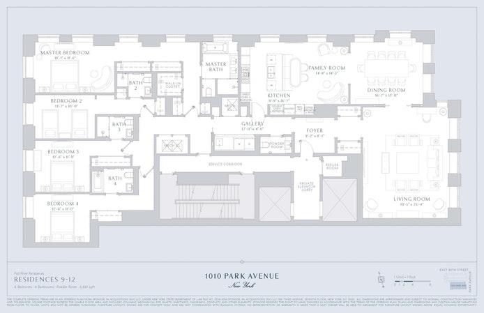 1010 Park Avenue 12Flr, Upper East Side, NYC, $17,900,000, Web #: 20239730