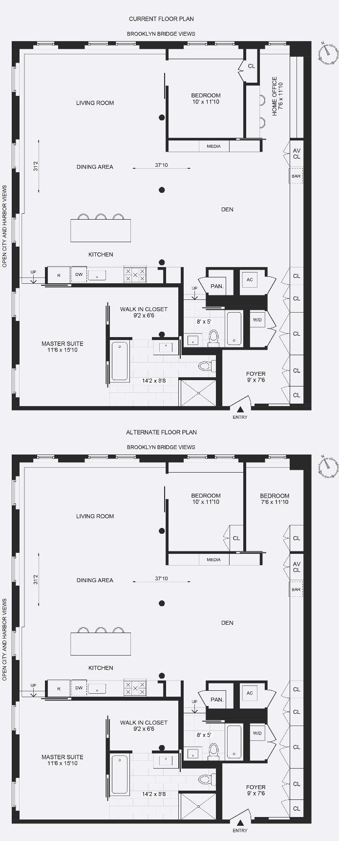 8 Old Fulton Street 4N, Brooklyn Heights, New York, $3,250,000, Web #: 20242336