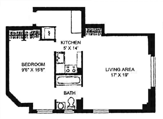 257 West 86th Street 8D, Upper West Side, NYC, $500,000, Web #: 20246515