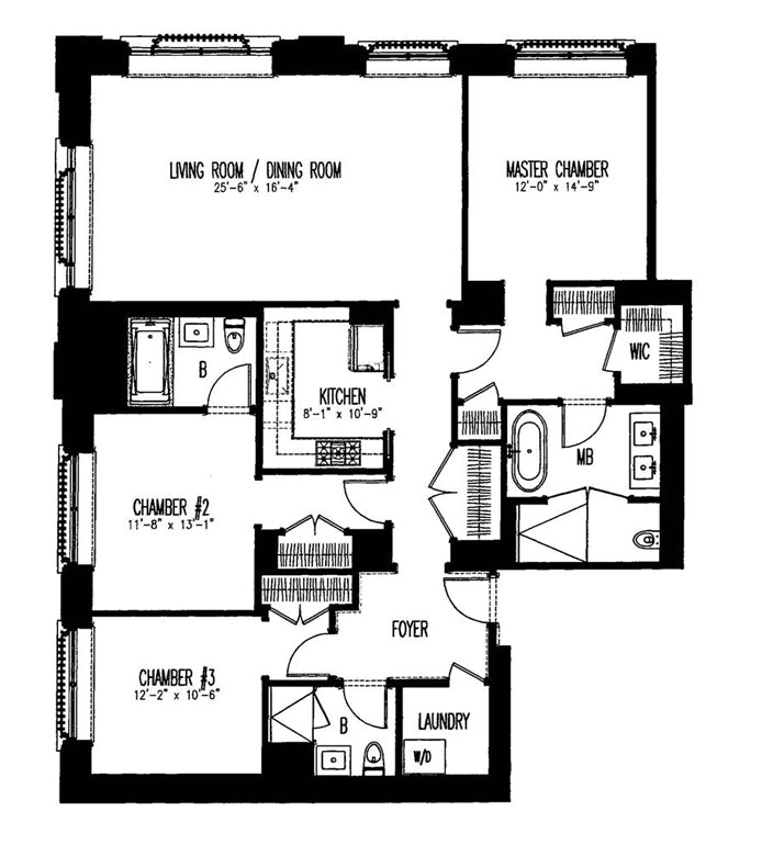 132 East 65th Street 7A, Upper East Side, NYC, $17,000, Web #: 20248807