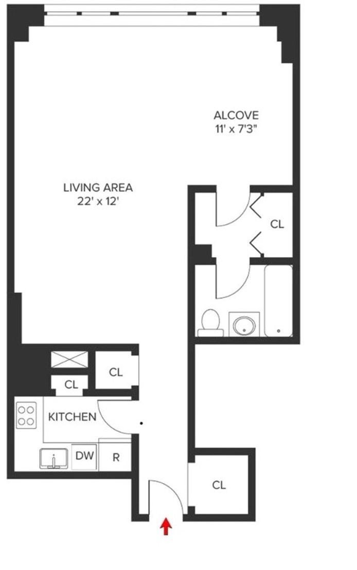 435 East 65th Street 6J, Upper East Side, NYC, $430,000, Web #: 20254776