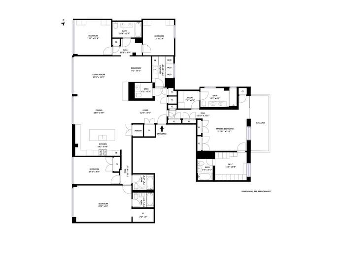 433 East 74th Street 5, Upper East Side, NYC, $4,995,000, Web #: 20256967