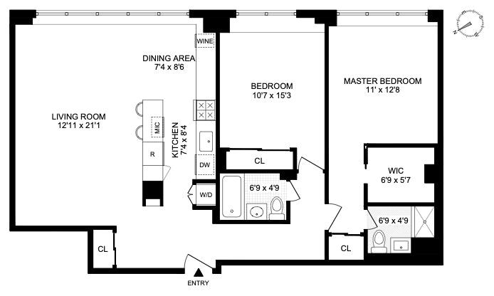 239 East 79th Street 3L, Upper East Side, NYC, $1,325,000, Web #: 20263814