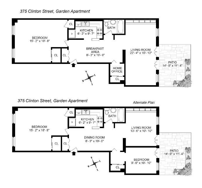375 Clinton Street 1, Carroll Gardens, New York, $1,200,000, Web #: 20267181