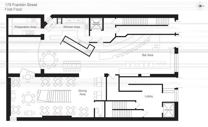 179 Franklin Street Restaurant, Tribeca, NYC, $39,600, Web #: 20269105