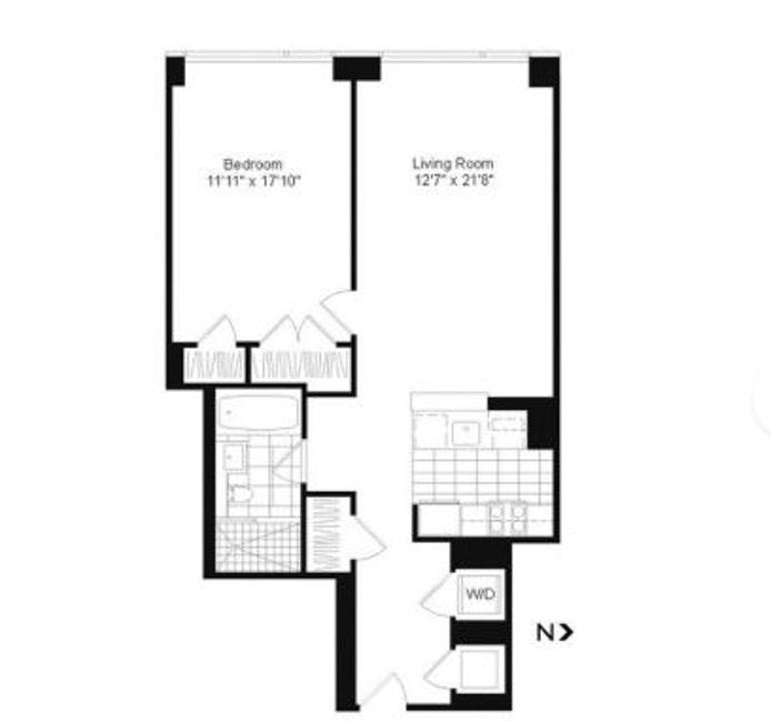 255 Hudson Street 10C, Soho, NYC, $4,800, Web #: 20285575
