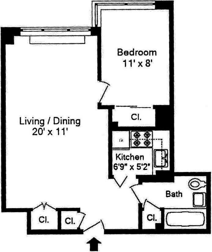460 East 79th Street 3D, Upper East Side, NYC, $565,000, Web #: 20285965