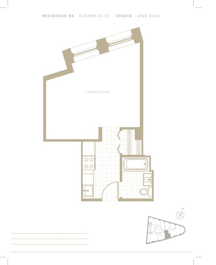1 Wall Street Court 904, Financial District, NYC, $2,650, Web #: 20286766