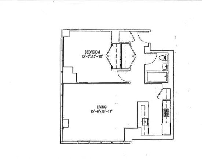350 West 42nd Street 54A, Midtown West, NYC, $1,299,000, Web #: 20295998