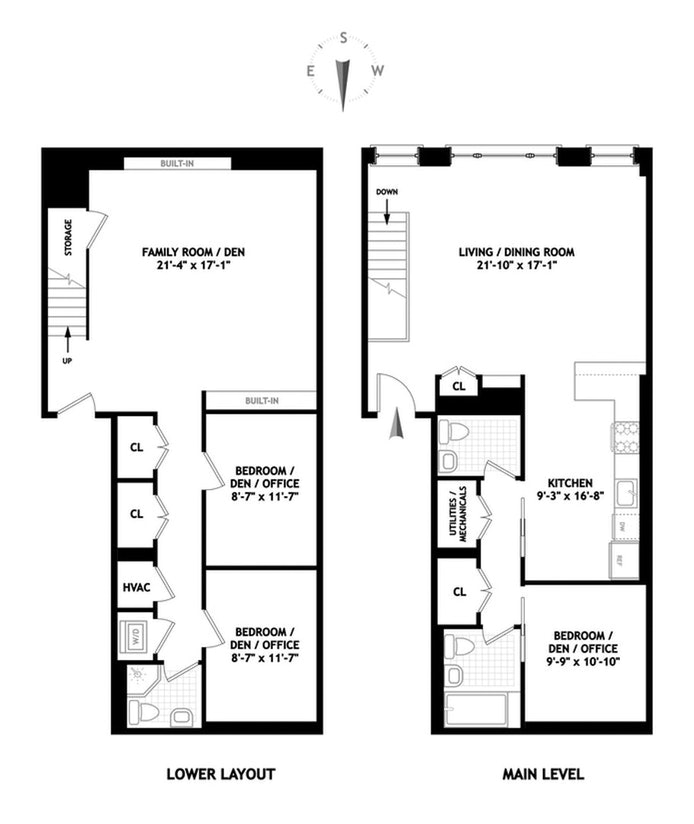 95 Lexington Avenue 1B, Clinton Hill, New York, $5,500, Web #: 20298110