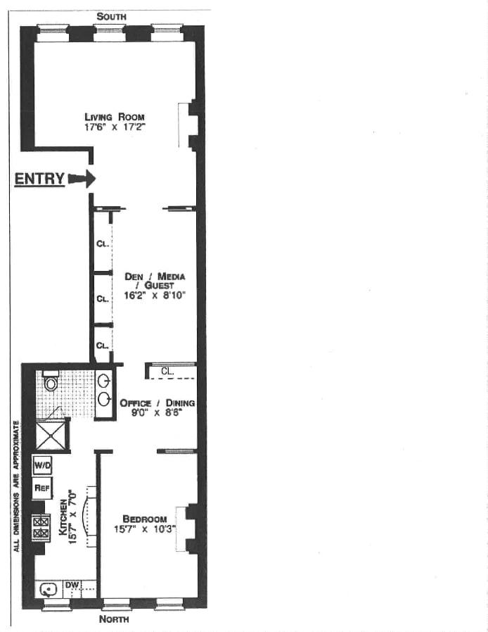 355 West 22nd Street 4, Greenwich Village/Chelsea, NYC, $4,795, Web #: 20300528